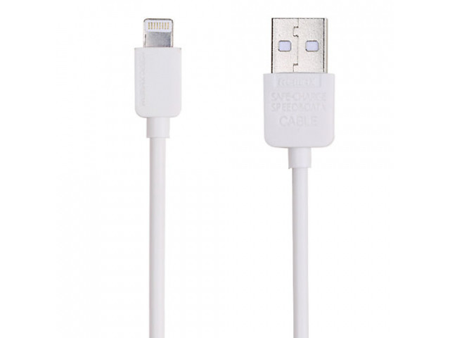 Кабель USB Remax RC-06i Lightning 1m білий для iPhone