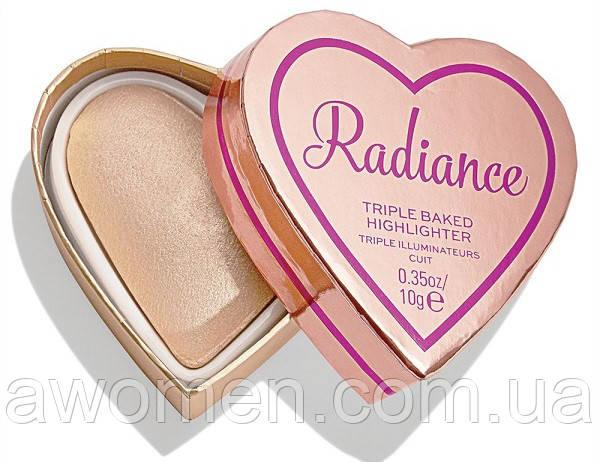 Хайлайтер Tarte Radiance Heart Triple Baked Highlighter 10 g
