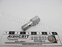 Ввертыш-штуцер М10*1,0 х 22 (внутренний М10*1,0) длинна резьбы 12,8 мм., кат. № 240-1111112-01