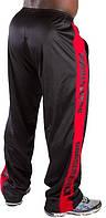 Штаны спортивные GORILLA WEAR (m.red) черные размер L