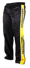 Штаны спортивные GORILLA WEAR (m.yellow) черные размер M