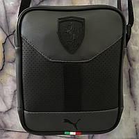 21bcb28d7ae4 Спортивная молодежная сумка через плечо Puma ferrari оптом. 120 UAH