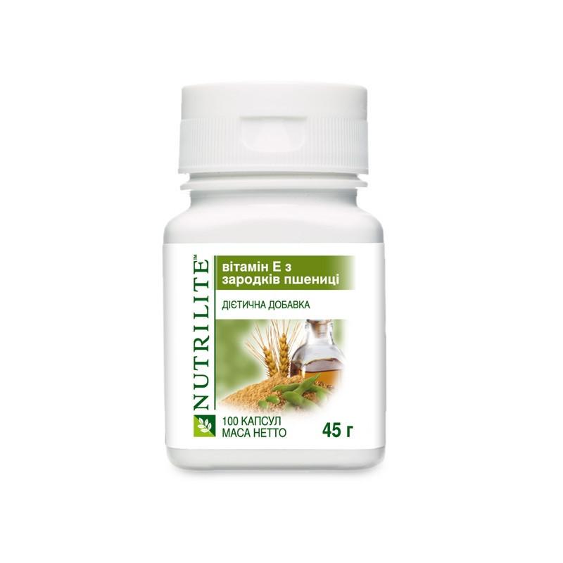 NUTRILITE Витамин Е из зародышей пшеницы (100 капсул). (4321)