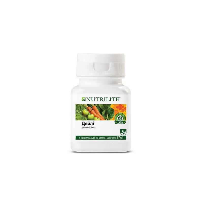 NUTRILITE Дейли 60 таблеток мультивитамин, поливитамин,для здорового питания. (4504)
