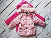 Куртка для девочки,зима, 2-5 лет, фото 1