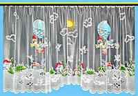 """Готовая тюль в детскую """"Мультяшки-1"""" 1,65х3 м"""