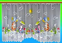 """Готовая тюль в детскую """"Мультяшки-2"""" 1,65х3 м"""