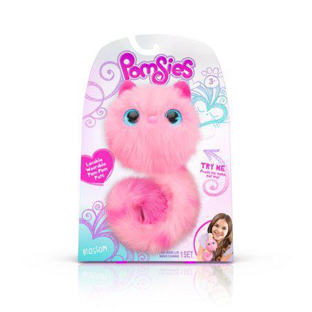 Мягкая игрушка котенок Помсис Блоссом Цветочек Pomsies Pet Blossom