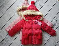 Куртка для девочки,зима, 1-5 лет