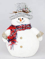 """Новогодний декор """"Снеговик"""" 32см"""