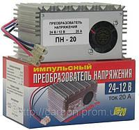 Импульсный преобразователь напряжения ОРИОН ПН20   24В-12В  20А