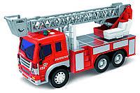 Машинка інерційна 1:16 Wenyi Пожежна зі звуком і світлом