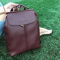 Женский рюкзак в стиле Michael Kors /мишель корс/майкл корс молодежный  бордо бордовый, фото 1