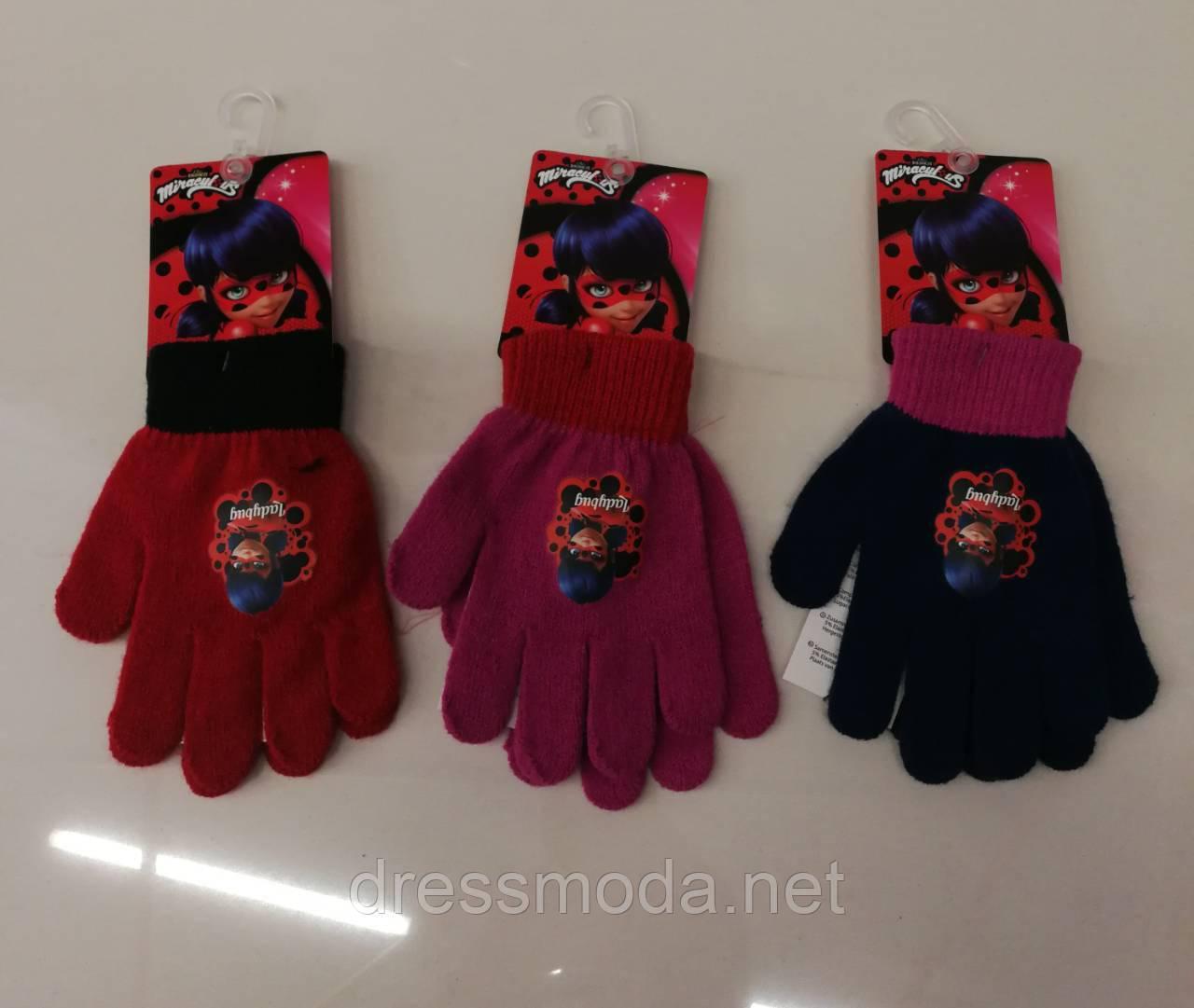 Перчатки для девочек Lady Bug 2-6 лет