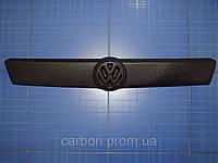 Заглушка решётки радиатора Volkswagen T4 верх 1999-2003 матовая Fly. Утеплитель решётки Фольксваген