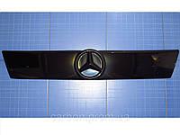 Зимняя заглушка решётки радиатора Mercedes Vito верх 1996-2003 глянец Fly. Утеплитель Мерседес