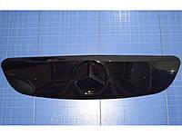Зимняя заглушка решётки радиатора Mercedes Vito Viano верх 2003-2010 глянец Fly. Утеплитель Мерседес