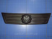 Зимняя заглушка решётки радиатора Volkswagen Caddy верх 2004-2010 матовая Fly.Утеплитель Фольксваген