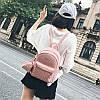 Рюкзак городской женский розовый с кошельком, фото 2