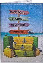 Интересная женская обложка для паспорта PASSPORTY (ПАСПОРТУ) KRIV026