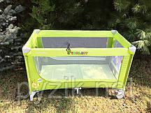 Манеж-кровать CARELLO Piccolo CRL-7303 Green