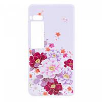 TPU чехол Cute Print для Meizu Pro 7 Plus Flowers