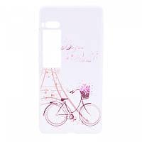 TPU чехол Cute Print для Meizu Pro 7 Plus Sweet Paris
