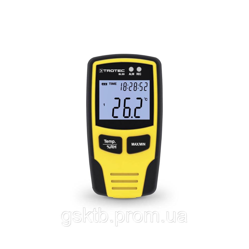 Регистратор температуры и влажности Trotec BL30 (Германия)