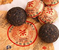 Набор чая пуэр в мешке, 50 шт., 10 разновидностей сорта, прессованные таблетки, выдержка 3 года, 250 г