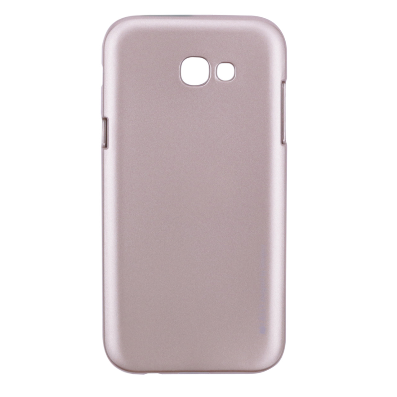 TPU чехол Mercury iJelly Metal series для Samsung A720 Galaxy A7 (2017) Золотой