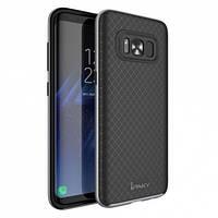 Чехол iPaky TPU+PC для Samsung G950 Galaxy S8 Черный / Серый