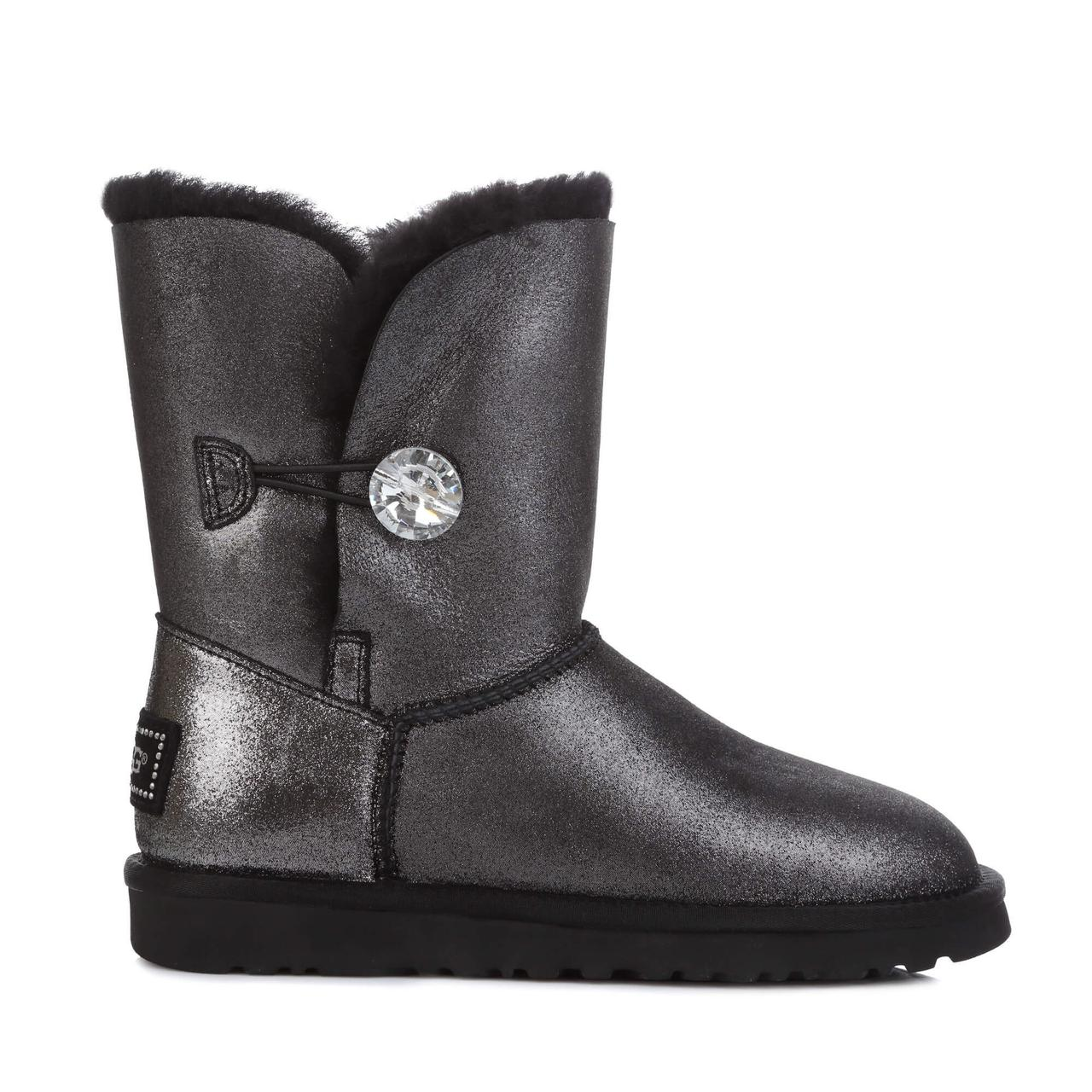 Угги UGG Australia Bailey Bling Black Glitter