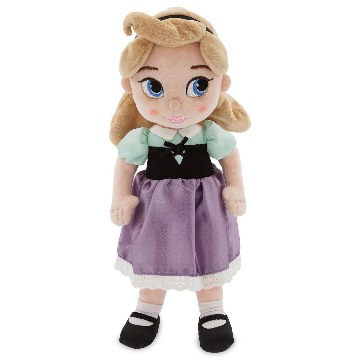 Disney Animators Мягкая игрушка плюшевая кукла малышка Аврора 33см - С