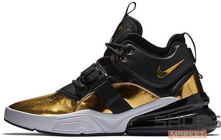 Мужские кроссовки Nike Air Force 270 Gold Standard AT5752-700, Найк Аир Форс, фото 2