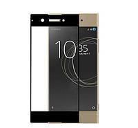 Защитное цветное стекло Mocolo (CP+) на весь экран для Sony Xperia XA Ultra Dual             Черный