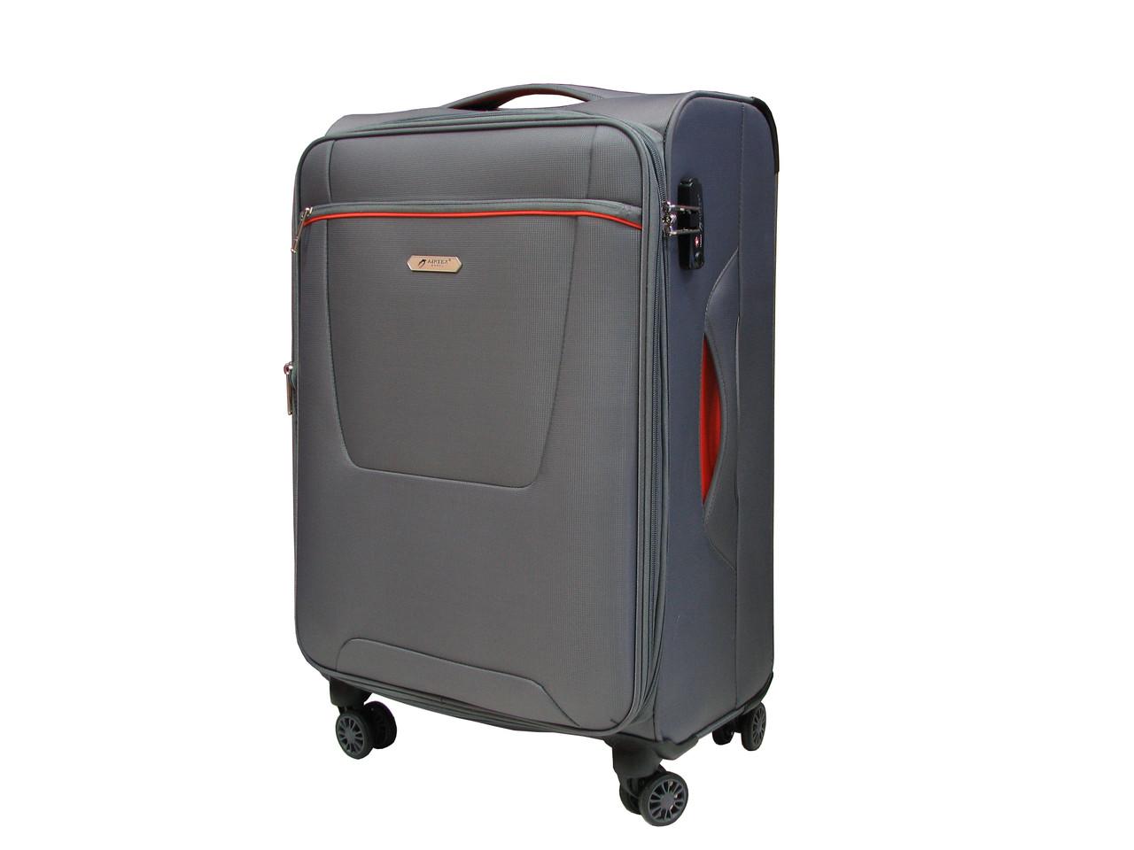 Легкий тканевый чемодан ручная кладь Airtex 825 - Интернет-магазин