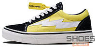Мужские кроссовки Revenge X Storm Low Top Black Yellow RS588977-004, Ревендж Сторм Лов Топ