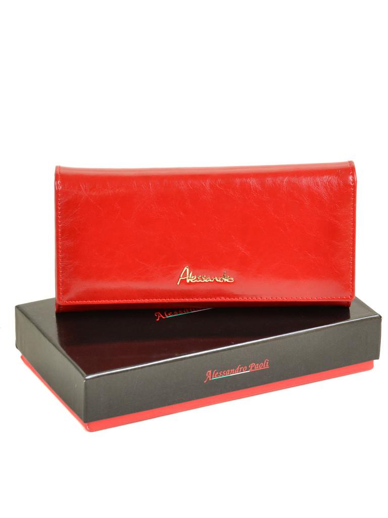 5080cc041f23 Классический женский кожаный кошелек с лаковым покрытием красный