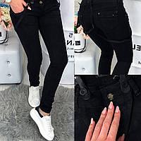 0113 Mardoc черные джинсы с обычной посадкой (25-30, 6 ед.), фото 1
