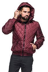 Мужская демисезонная куртка с капюшоном. 48 - 56