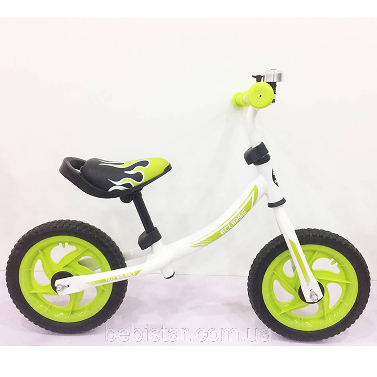 Беговел BALANCE TILLY 12 Eclipse T-21254 Green для дітей 2-4 роки