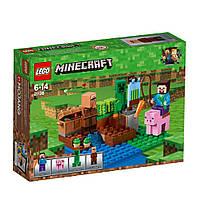 Конструктор LEGO Minecraft Арбузная ферма (21138)