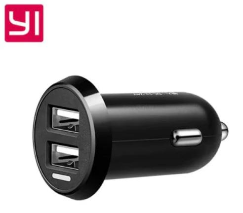 Автомобильное зарядное устройство Xiaomi YI Car Charger Dual USB