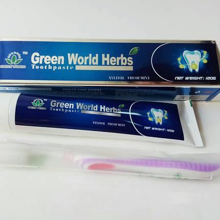 Зубна паста Зелений світ Грін Ворлд купити, ціна 120 гр., фото 2