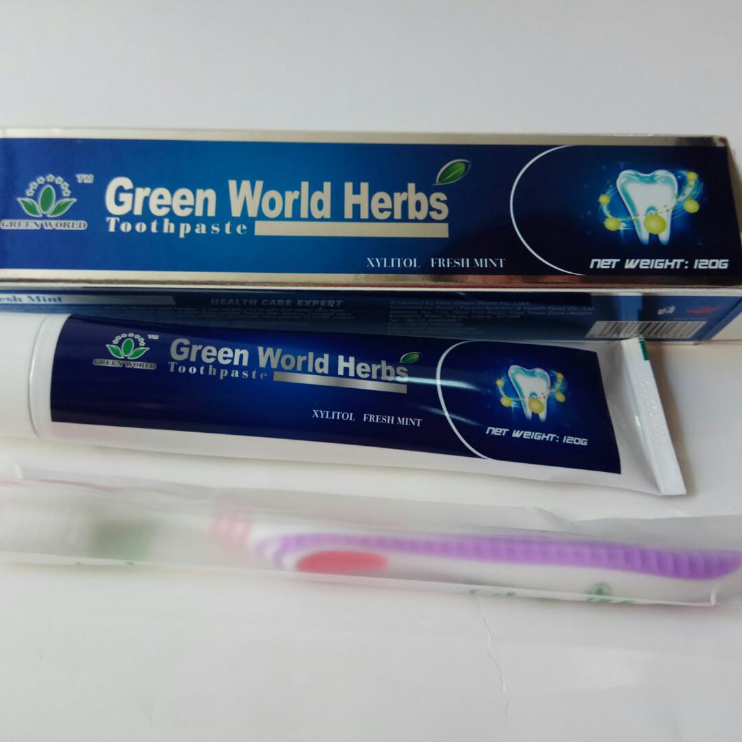 Зубная паста Зеленый мир Грин Ворлд купить, цена 120 гр.