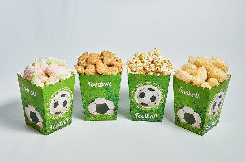 """Коробочки для сладостей """"Футбол"""" 5 шт/уп."""