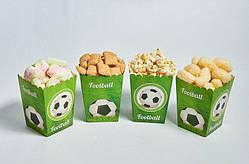 """Коробочки для солодкого """"Футбол"""" 5 шт/уп."""