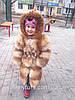Детская шуба из лисы на девочку
