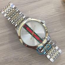 Наручные часы Gucci 6848ST Silver-Gold-Silver кварцевые, часы Гуччи, реплика
