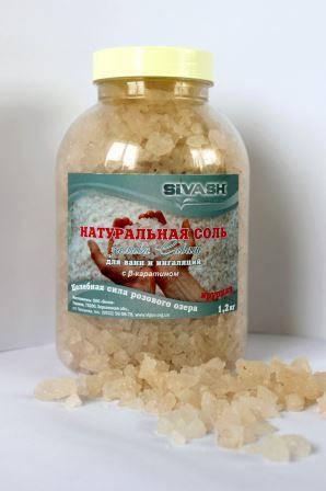 Морська сіль Сиваш для ванн 1.2 кг, фото 2